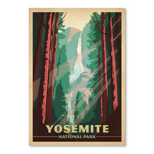 Yosemite National Park Vintage Advertisement by East Urban Home