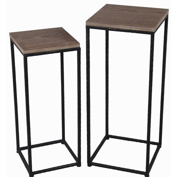 Mcneal 2 Piece Nesting Tables by Gracie Oaks