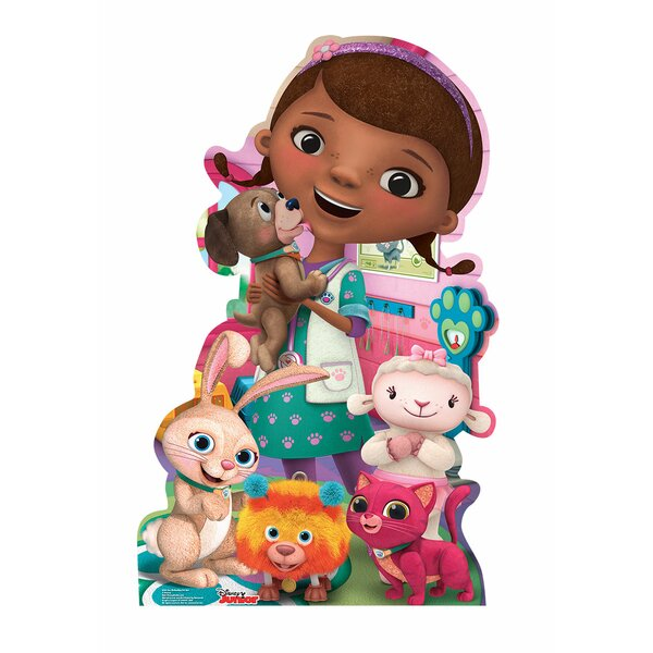 Doc Mcstuffins Pet Vet Disney Jr Life Size Cardboard Cutout By Advanced Graphics.