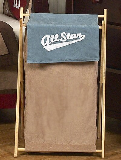 All Star Sports Laundry Hamper by Sweet Jojo Designs