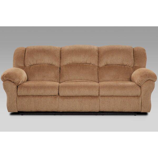 Pfarr Reclining Sofa by Winston Porter