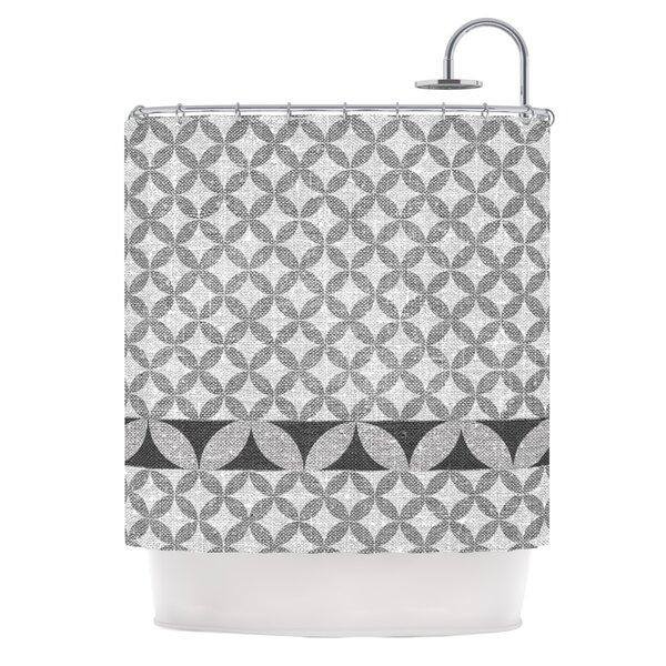 Diamond Shower Curtain by KESS InHouse