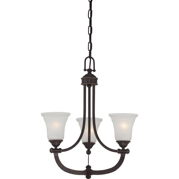 Polak 3 - Light Shaded Empire Chandelier By Charlton Home