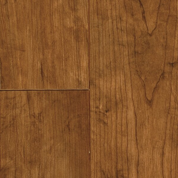 Revolutions™ Plank 5 x 51 x 8mm Heritage Cherry Laminate Flooring in Saddle by Mannington