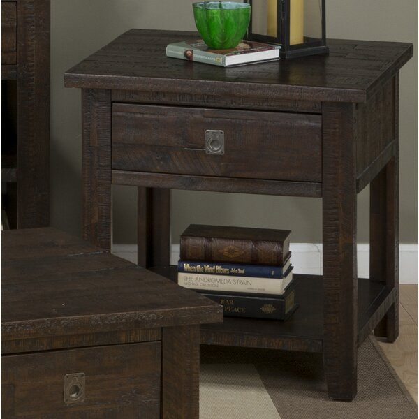 Cadwallader End Table by Darby Home Co
