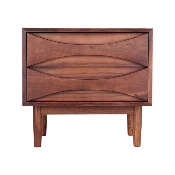 Cress 2 Drawer Nightstand by Corrigan Studio