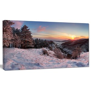 'Slovakia Panorama at Winter' Photographic Print on Wrapped Canvas by Design Art