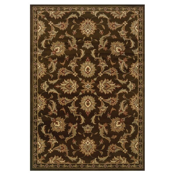 Harper Brown/Green Area Rug by Threadbind