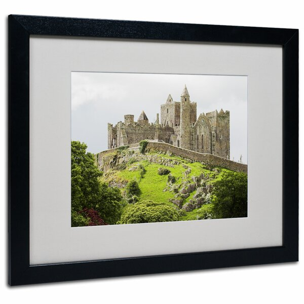 Rock of Cashel Ireland by Pierre Leclerc Framed Photographic Print by Trademark Fine Art