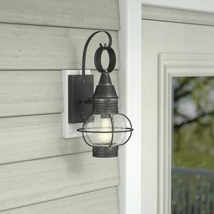 Best Fallsburg 1-Light Outdoor Wall Lantern By Laurel Foundry Modern Farmhouse