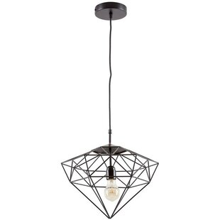 Look for Diego 1-Light Foyer/Geometric Pendant By Wrought Studio