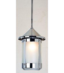 Deals Berkeley 1-Light Outdoor Hanging Lantern By Arroyo Craftsman
