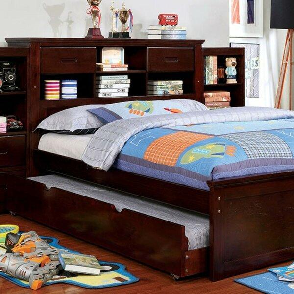 Ravenna Bookcase Headboard Platform Bed by Harriet Bee