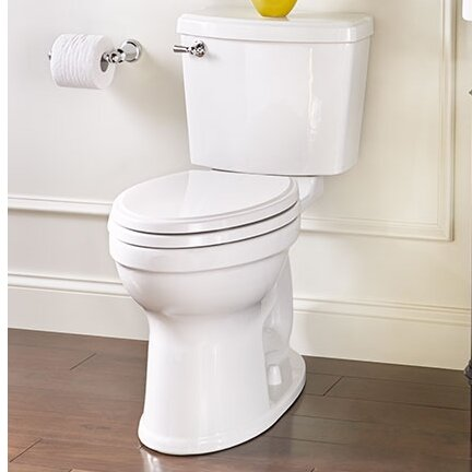 Champion 1.28 GPF Elongated Two-Piece Toilet by American Standard