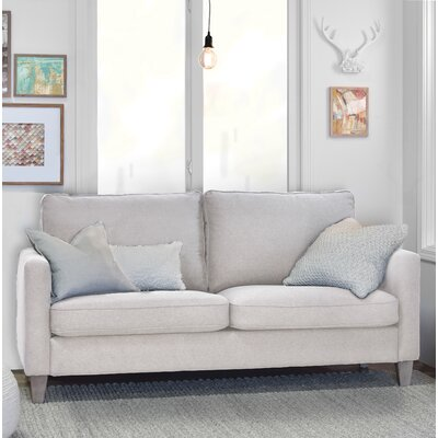Arm Sofa Square Cream pic