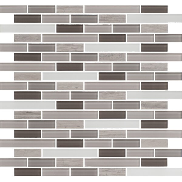 Ocean Pearl Random Sized Glass Mosaic Tile in Taupe by Travis Tile Sales