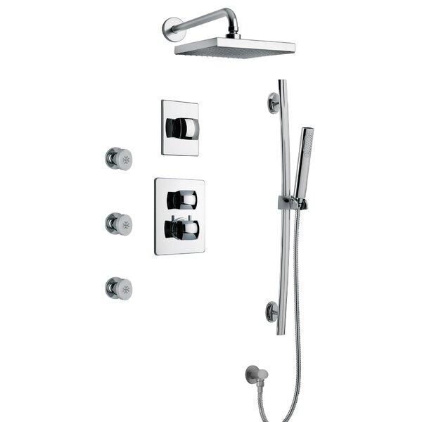 Lady Volume Thermostatic Shower System by LaToscana