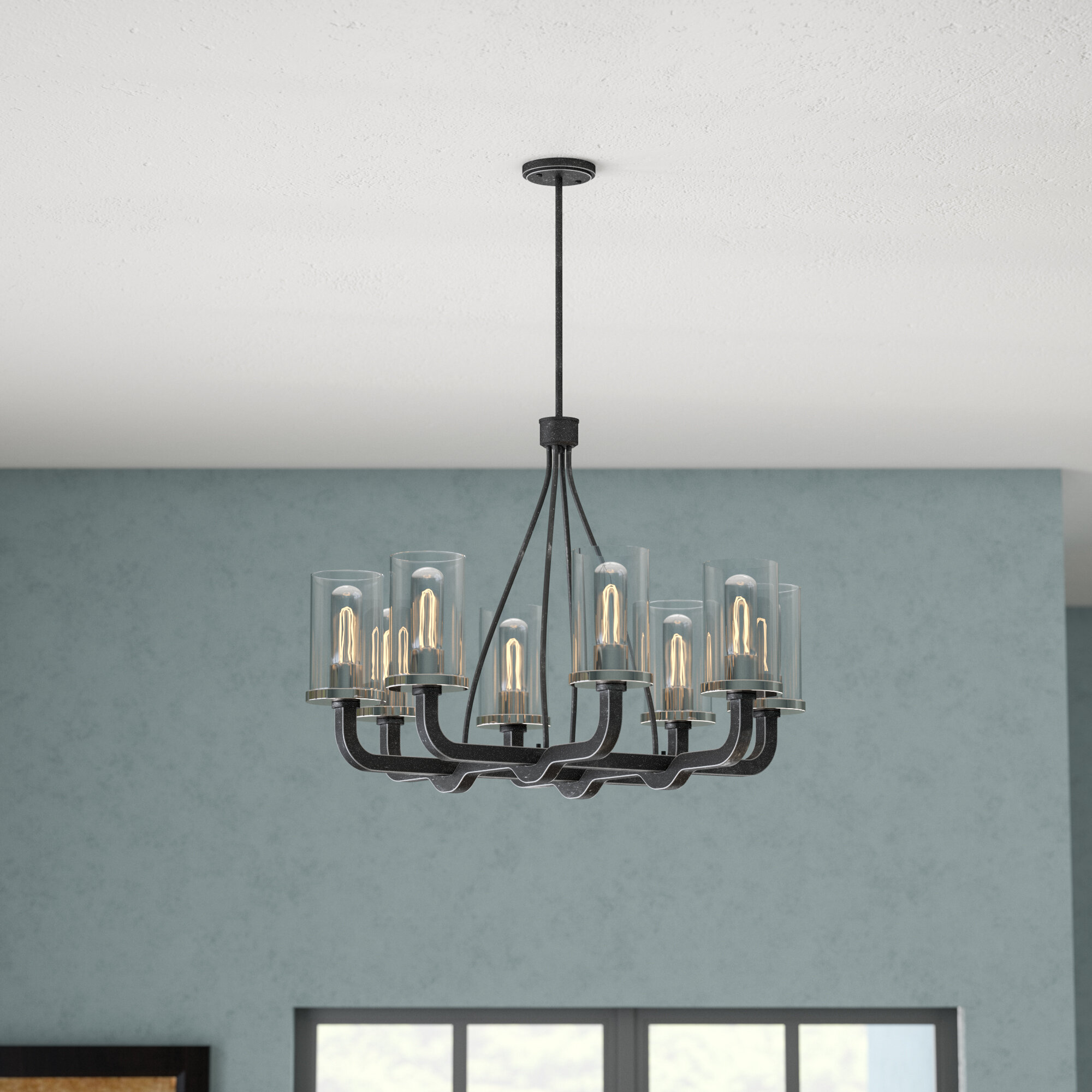Trent Austin Design Beatrice 8-Light Candle-Style Chandelier ...