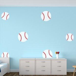 Baseballs Wall Decal