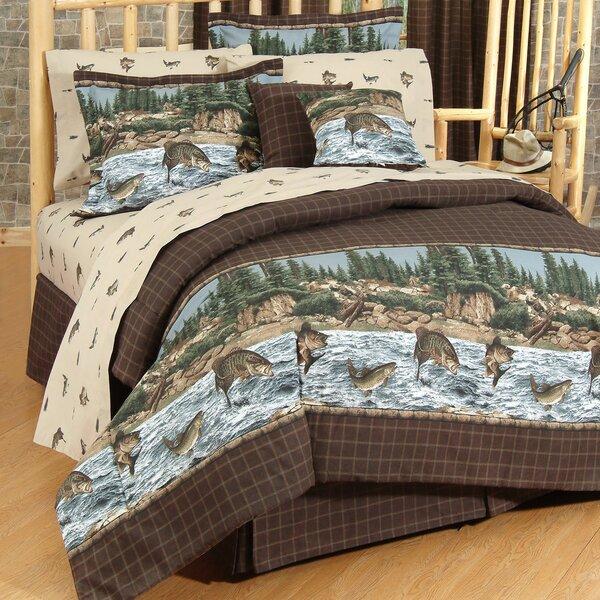 River Fishing Comforter Set by Wildon Home ®