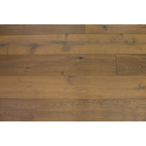 Bergen 7-1/2 Engineered Oak Hardwood Flooring in Almond by Branton Flooring Collection
