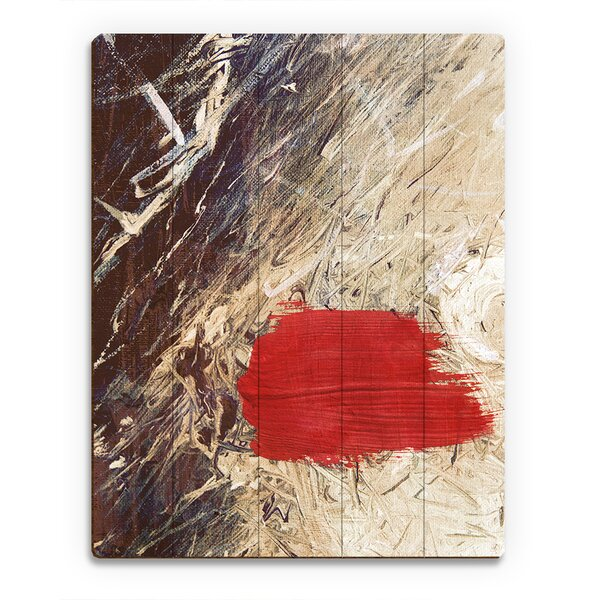 Scarlet Scenario Painting Print on Plaque by Click Wall Art