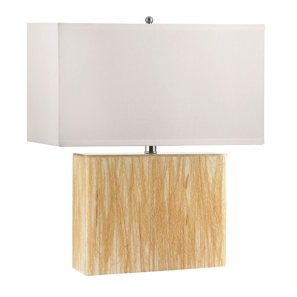 Wild Grass 26 Table Lamp by August Grove
