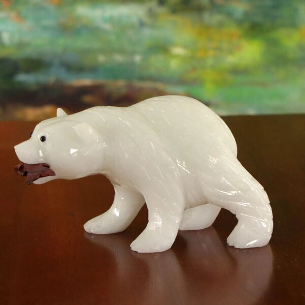 Mullet Polar Bear Figurine by Loon Peak