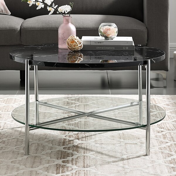 Carrillo Coffee Table by Wrought Studio