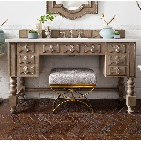 Elizabella 60 Single Empire Gray Bathroom Vanity Set by Astoria Grand