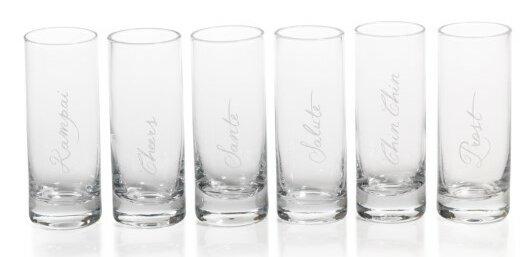 Tula Celebration 3 oz. Shot Glass/Shooter (Set of 6) by Zodax