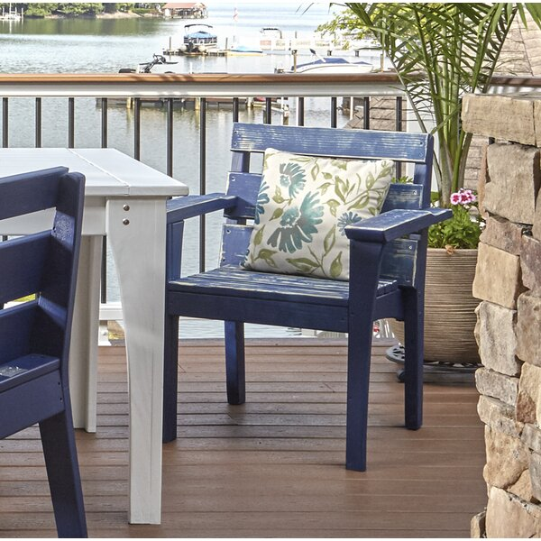 Destini Patio Dining Chair by Longshore Tides Longshore Tides