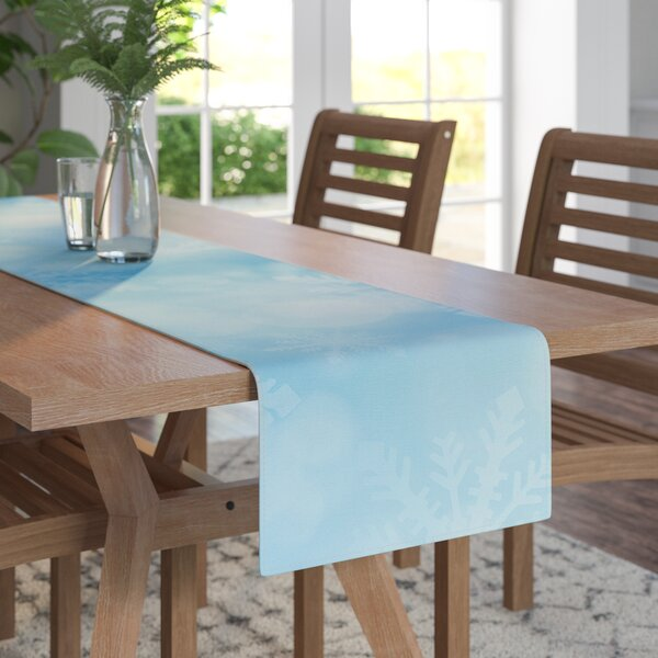 Snap Studio Winter is Coming Table Runner by East Urban Home