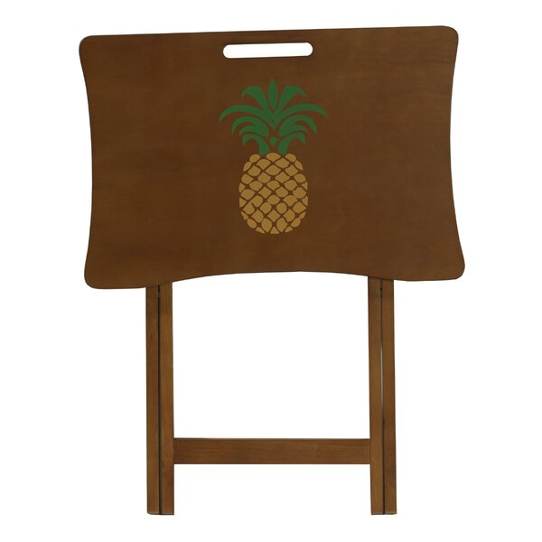 Pineapple Design Tray Table by Elements
