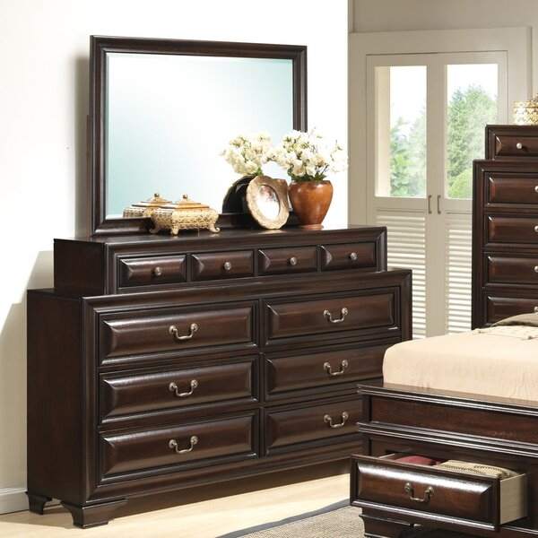 Edwardsville 10 Drawer Double Dresser by Darby Home Co