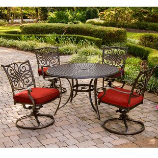 Rachal Traditions 5 Piece Dining Set By Astoria Grand