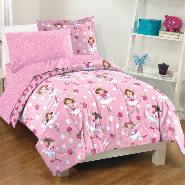 Luz 5 Piece Reversible Comforter Set by Zoomie Kids
