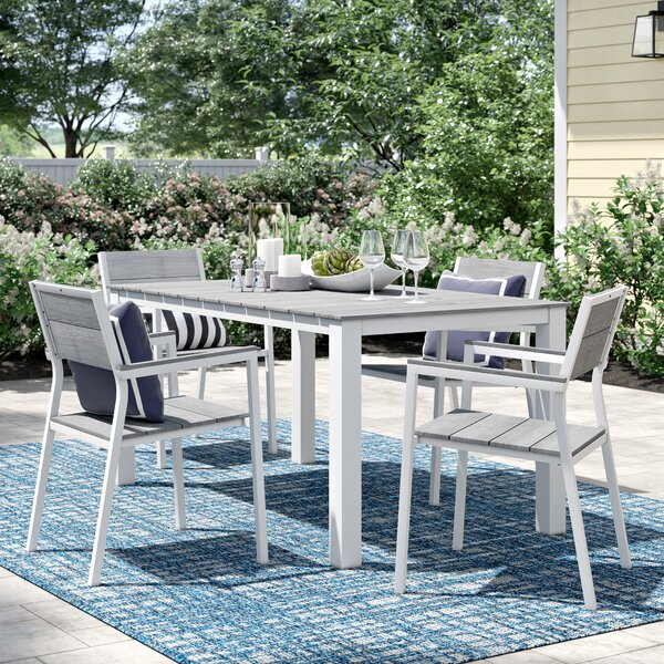 Windsor 5 Piece Outdoor Dining Set by Sol 72 Outdoor