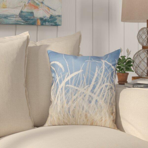 Cedarville Grass 1 Throw Pillow by Highland Dunes