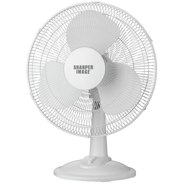 12 Oscillating Table Top Fan by Sharper Image