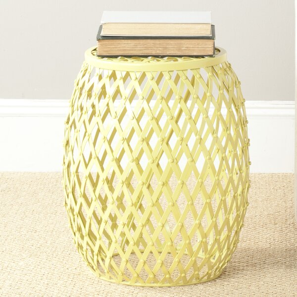 Steve Matte Strips Stool by Safavieh