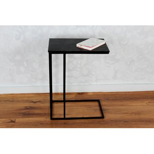 Reviews Sharen Slate C End Table By 17 Stories