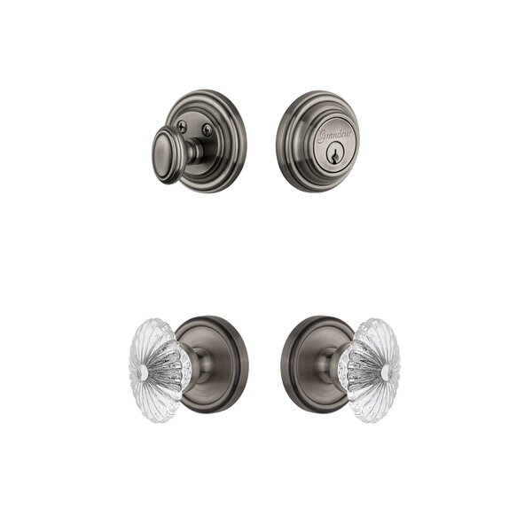 Georgetown Single Cylinder Knob Combo Pack by Grandeur