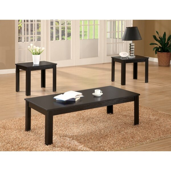 Jenkintown Attractive 3 Piece Coffee Table Set By Winston Porter