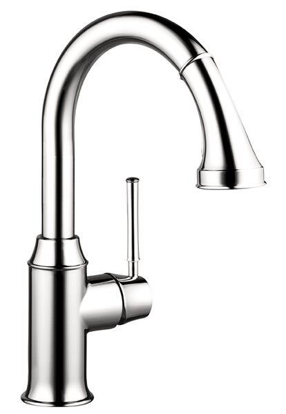 Talis C Pull Down Single Handle Kitchen Faucet by Hansgrohe