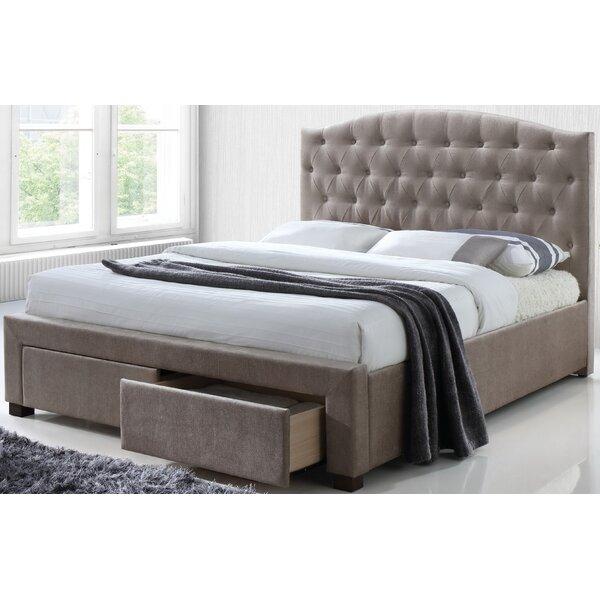 Jay Upholstered Storage Platform Bed by Rosdorf Park
