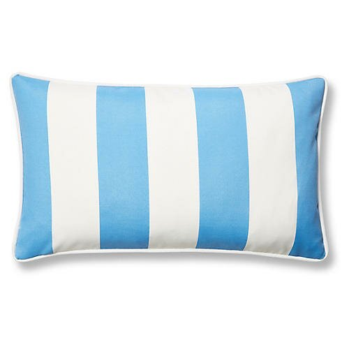 New Bedford Outdoor Lumbar Pillow by Rosecliff Heights