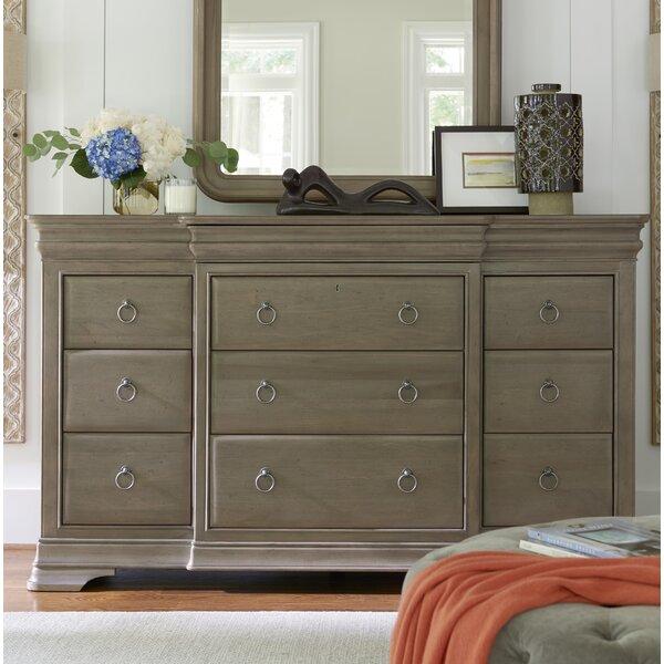 Review Baily 12 Drawer Standard Dresser