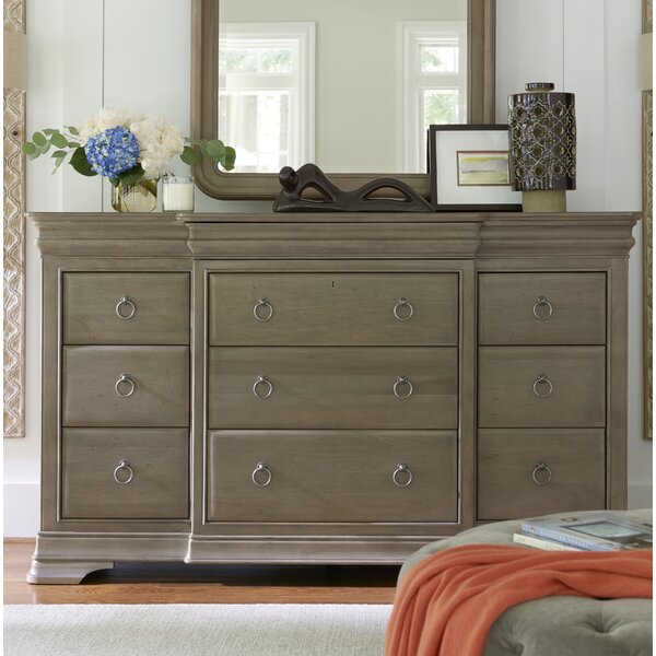 Read Reviews Baily 12 Drawer Standard Dresser