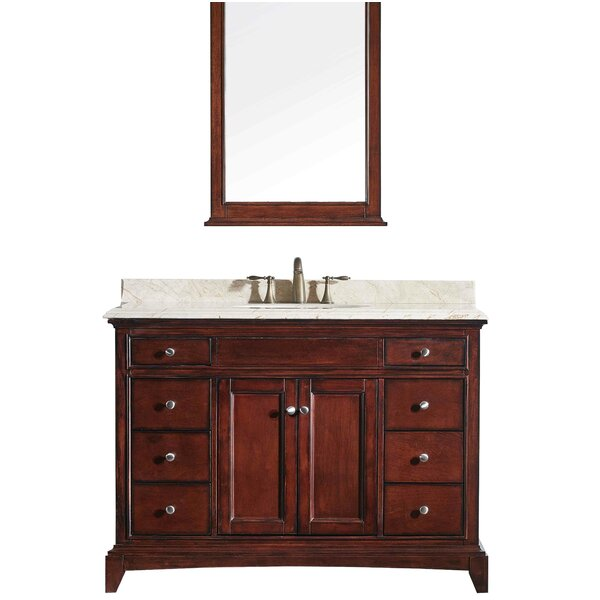 Strickland 48 Bathroom Vanity Base by Darby Home Co